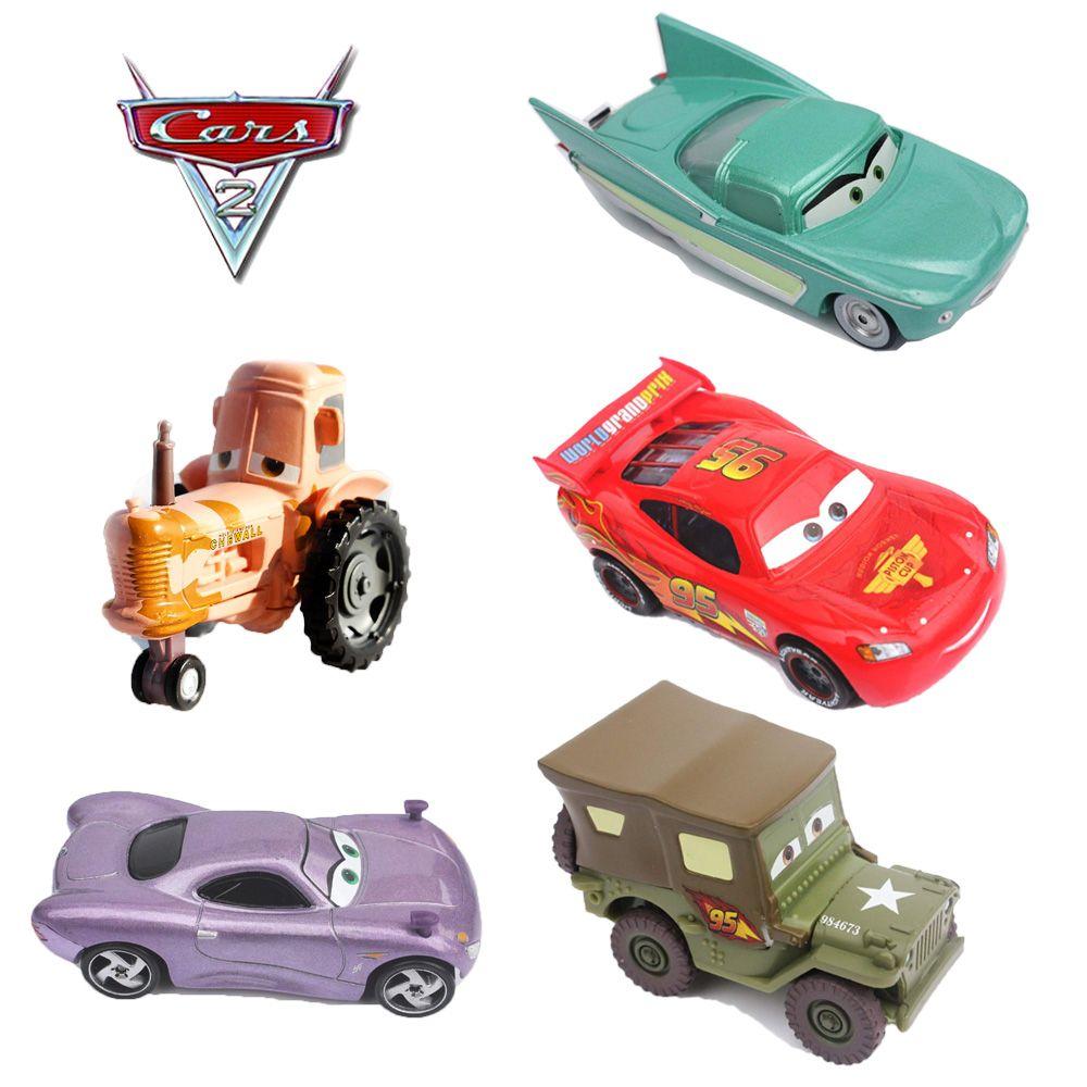 13 סגנונות מתכת Diecast פיקסאר מכוניות 2 פלו 1 42 קנה מידה סגסוגת Modle חמוד אנימה Cartoon ילדים מתנות צעצועים לילדים בובות Cute Toys Cartoon Kids Child Doll