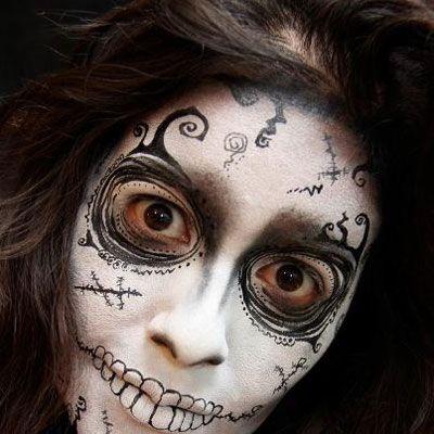 halloween face painting ideas google zoeken - Skull Face Painting Ideas For Halloween