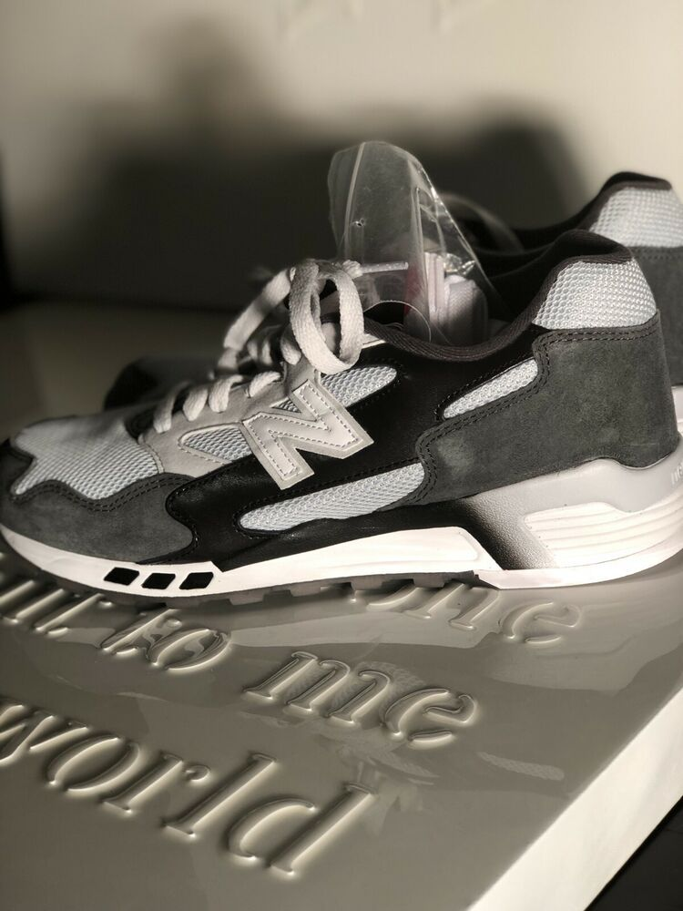 Peace of mind Glamor dedication  New Balance 660 ML660SNC Mens White Gray Black Suede Running Shoes Sz8  #fashion #clothing #shoes #accessories #me… | Black suede, Running shoes,  Black running shoes