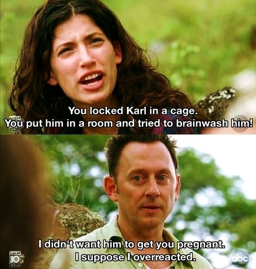 Alex And Ben Lost Tv Show Lost Memes Lost Quotes