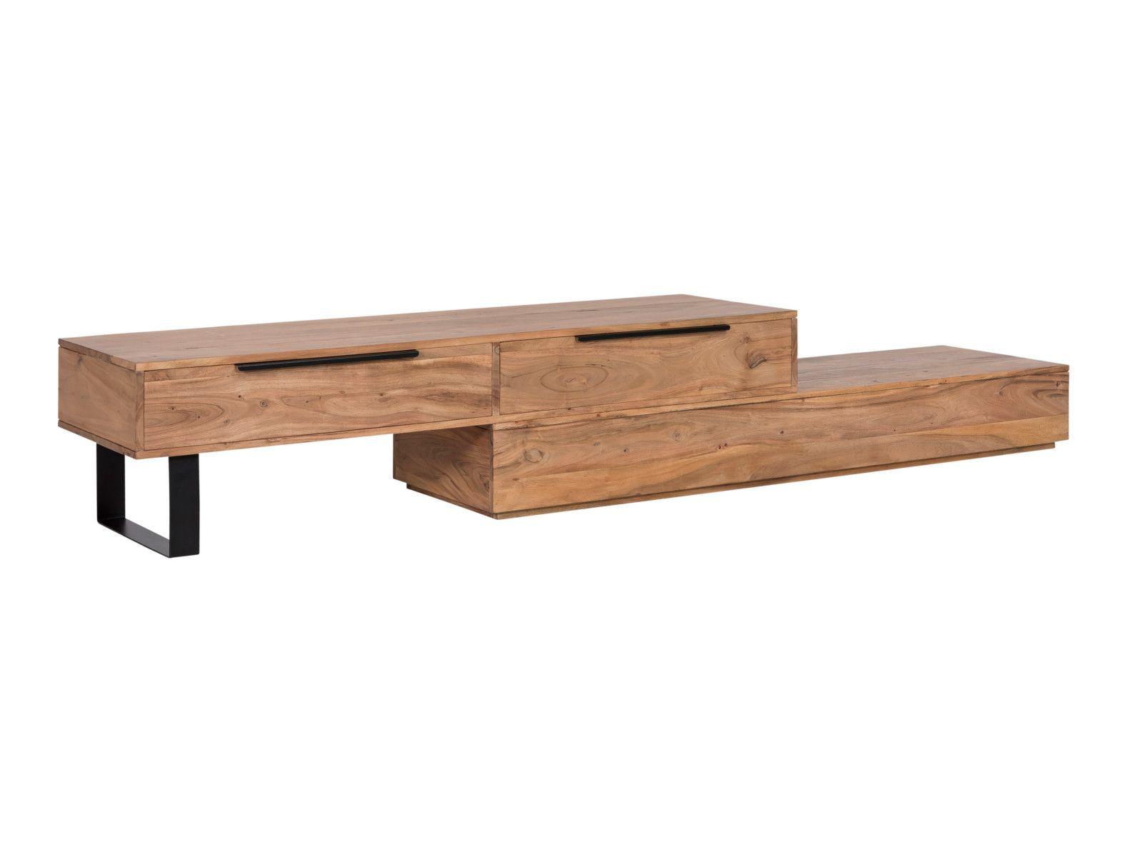 Tv Bank Auckland Ii Akazie Tv Mobel Tv Lowboard Holz Tv Mobel Lowboard