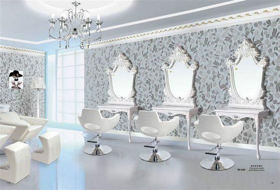 Resultado de imagen de sillones vintage de peluqueria - Interiores de peluquerias ...