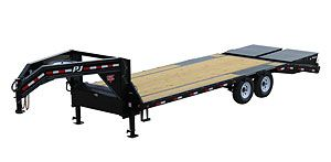 Low Pro Flatdeck With Singles Ls Www Nationwidetrailers Com Call To Order 866 931 3001 Pj Trailers Equipment Trailers Utility Trailer