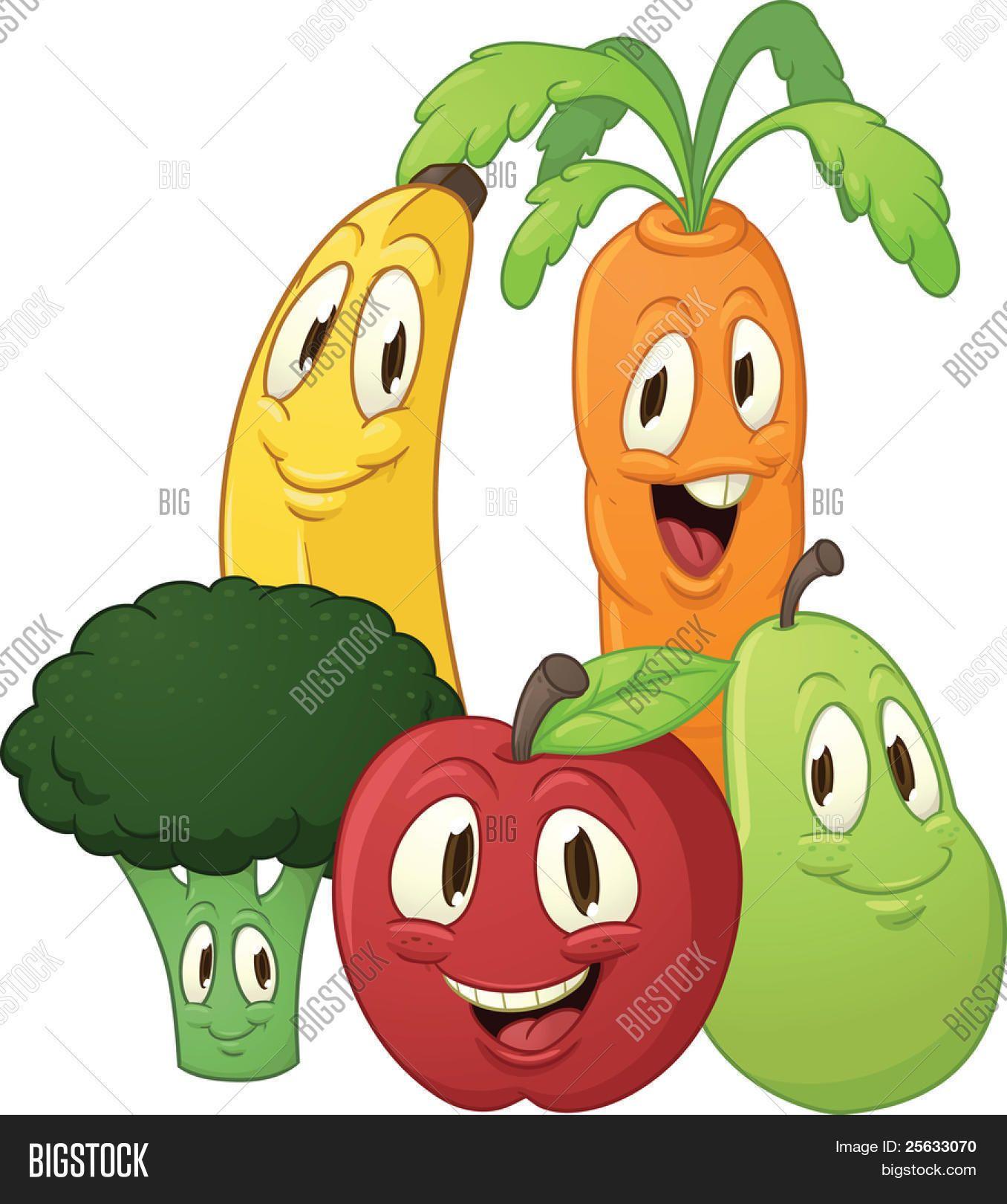 Resultado De Imagen De Dibujos De Frutas Y Verduras Animadas Dibujos De Frutas Imagenes De Dibujos Frutas