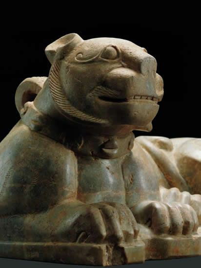 Stone Lion Weight 2nd Century BC Western Han Dynasty Unearthed at Shizishan in 1994