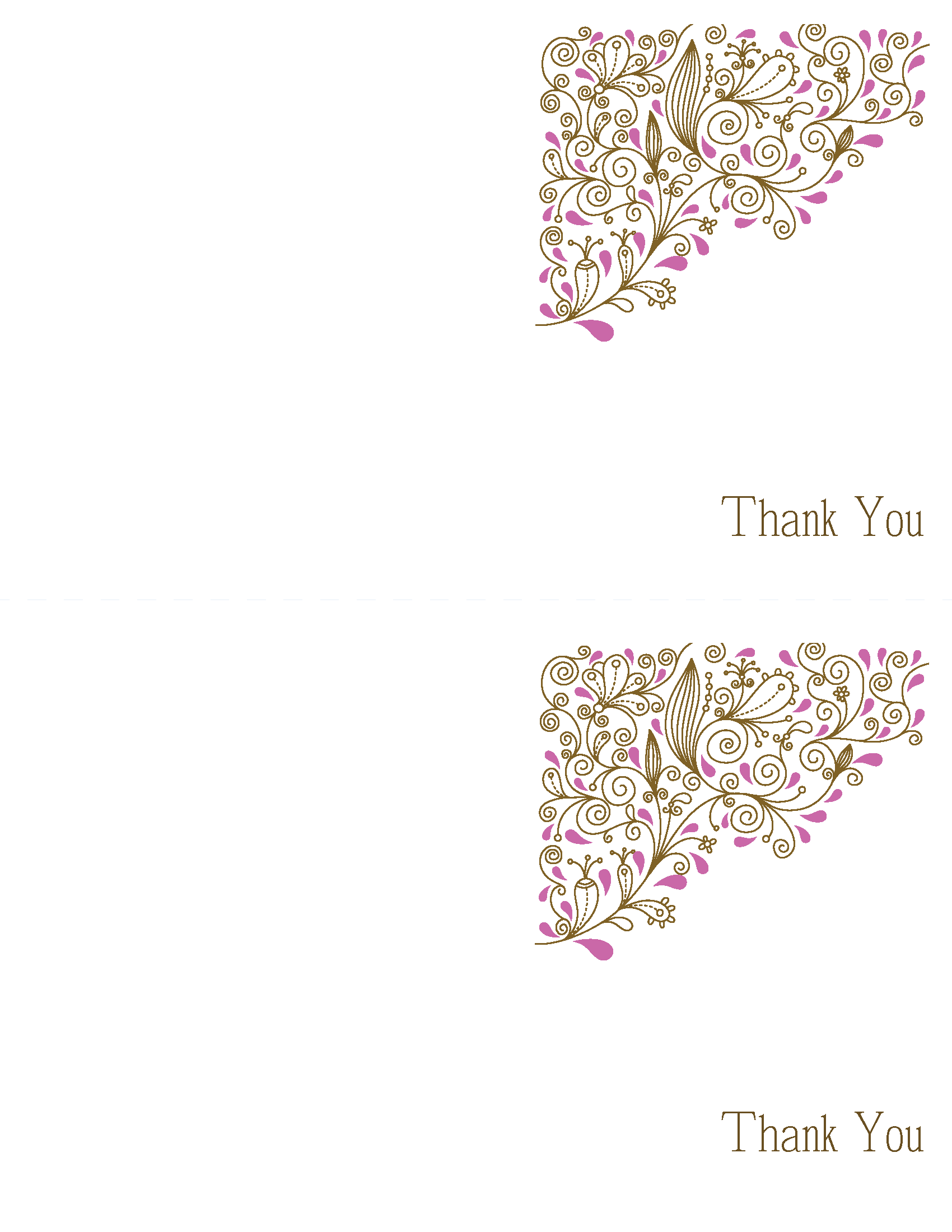 Thank you cards printable wedding invitations paisley ca diy thank you cards printable wedding invitations paisley candice suite pink and brown solutioingenieria Gallery