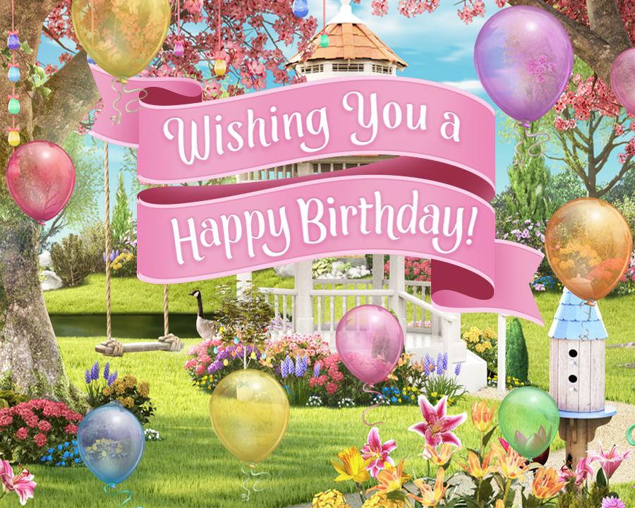"""Happy Birthday Song Personalized Lyrics"" Birthday eCard"