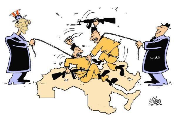 كاريكاتير صحيفة تشرين (سوريا)  يوم الثلاثاء 17 مارس 2015  ComicArabia.com  #كاريكاتير