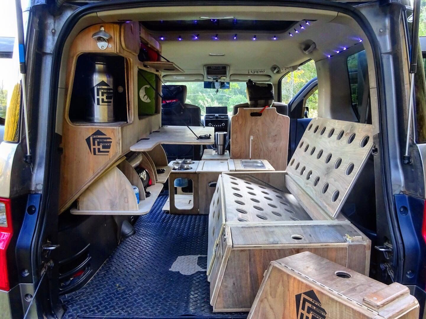 Pin by Micky Fwell on Honda Element Camper | Pinterest ...
