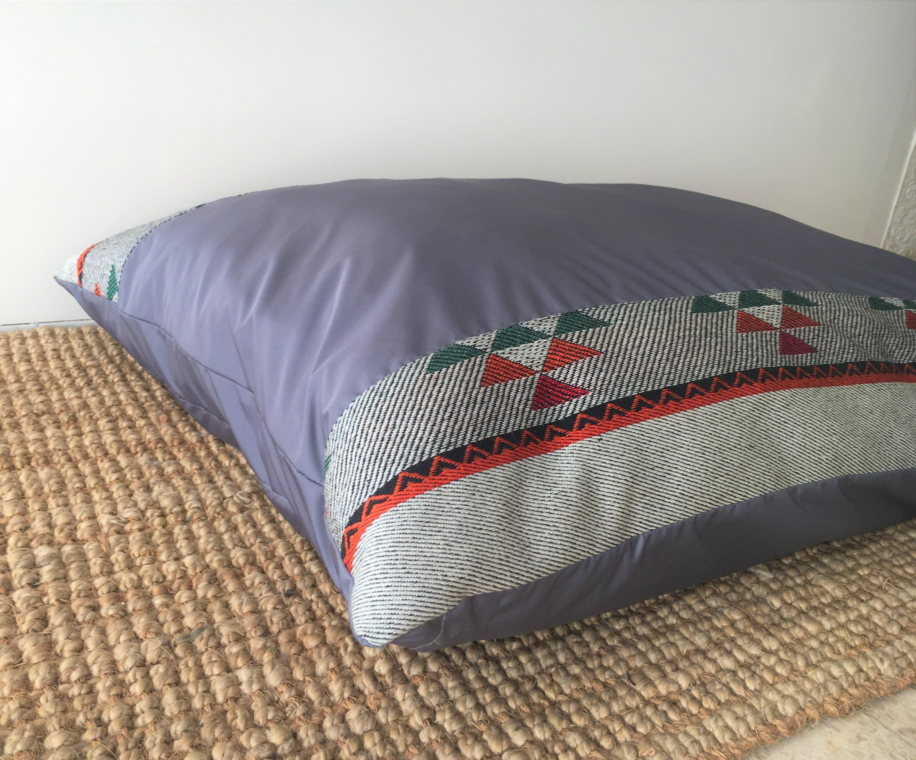 Dog Bed Cover Water Resistant Huge Size Dog Bed Cover Gray
