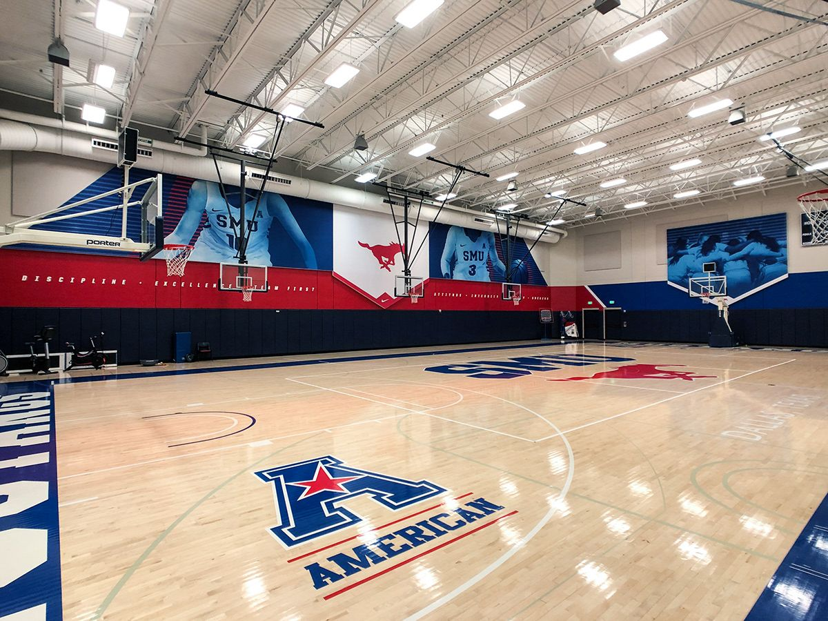 Smu Basketball Facility On Behance Smu Gym Architecture Basketball