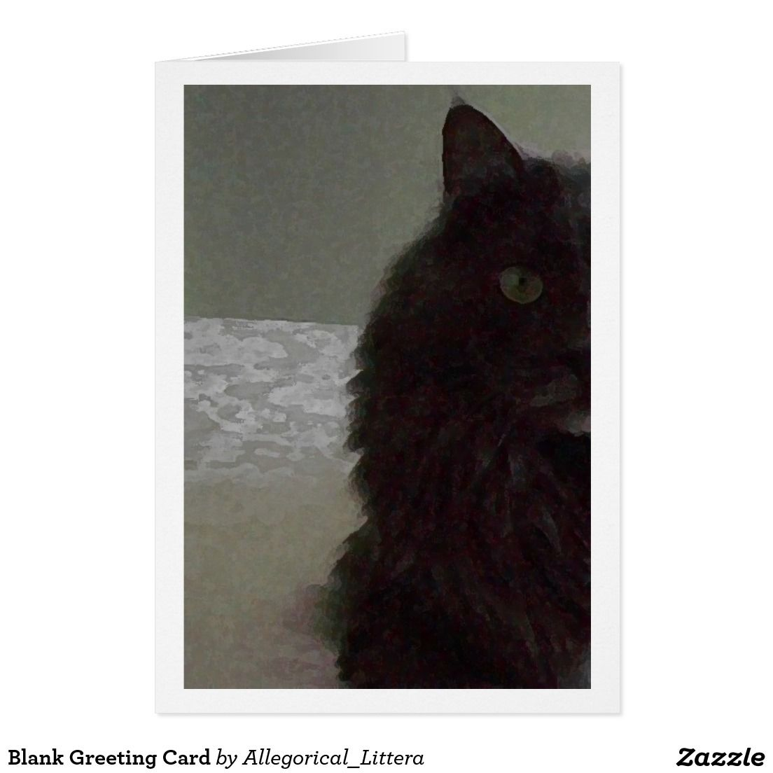 Greeting card on zazzle store name allegoricallittera blank greeting card on zazzle store name allegoricallittera blank for your own message kristyandbryce Image collections