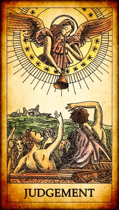 Resultado de imagem para the judgement tarot