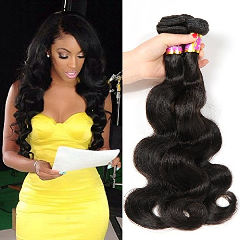 8a Peruvian Virgin Hair Body Wave Human Hair Extensions Bobofun 100 Unprocessed Peruvian Body Wave Hair Real Human Hair Extensions Peruvian Hair Glamour Hair