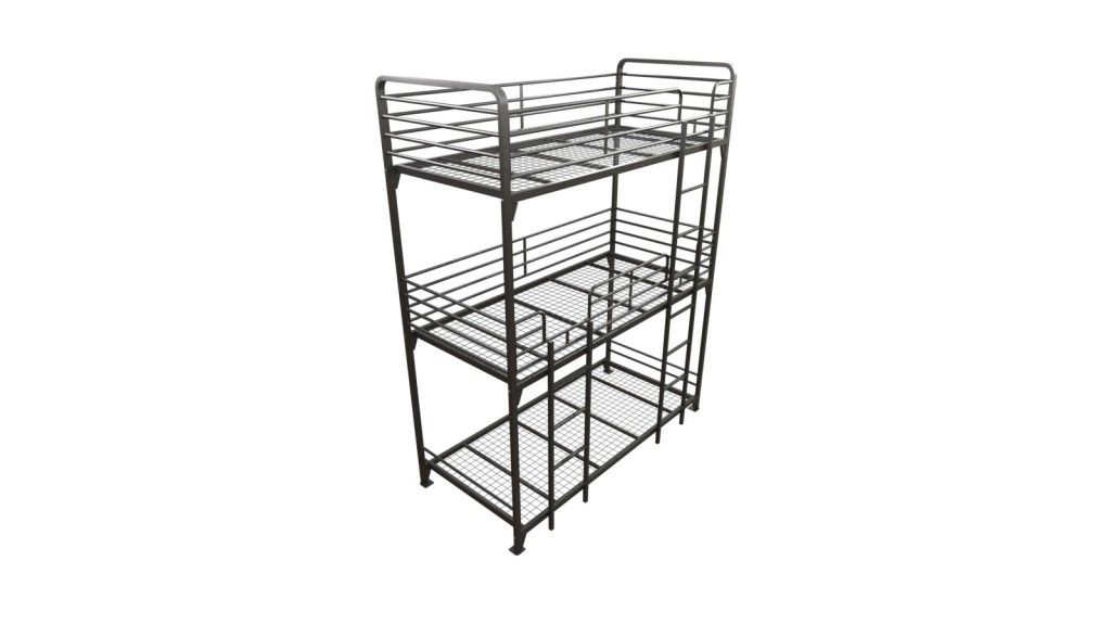 The Adult Triple Bunk Bed For Hostels Is Also For The Military And