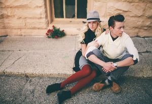 beautiful couple  fall engagements  Salt Lake City, Utah