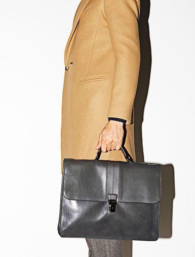 Tod's briefcase.