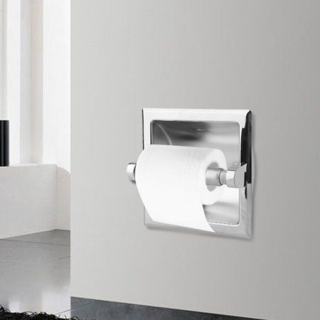 Recessed Tet Paper Holder Stainless Steel Paper Roller Tissue Box