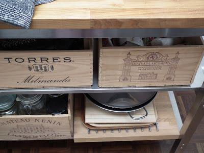 ex-minimalistin tunnustuksia: Vanhat viinilaatikot