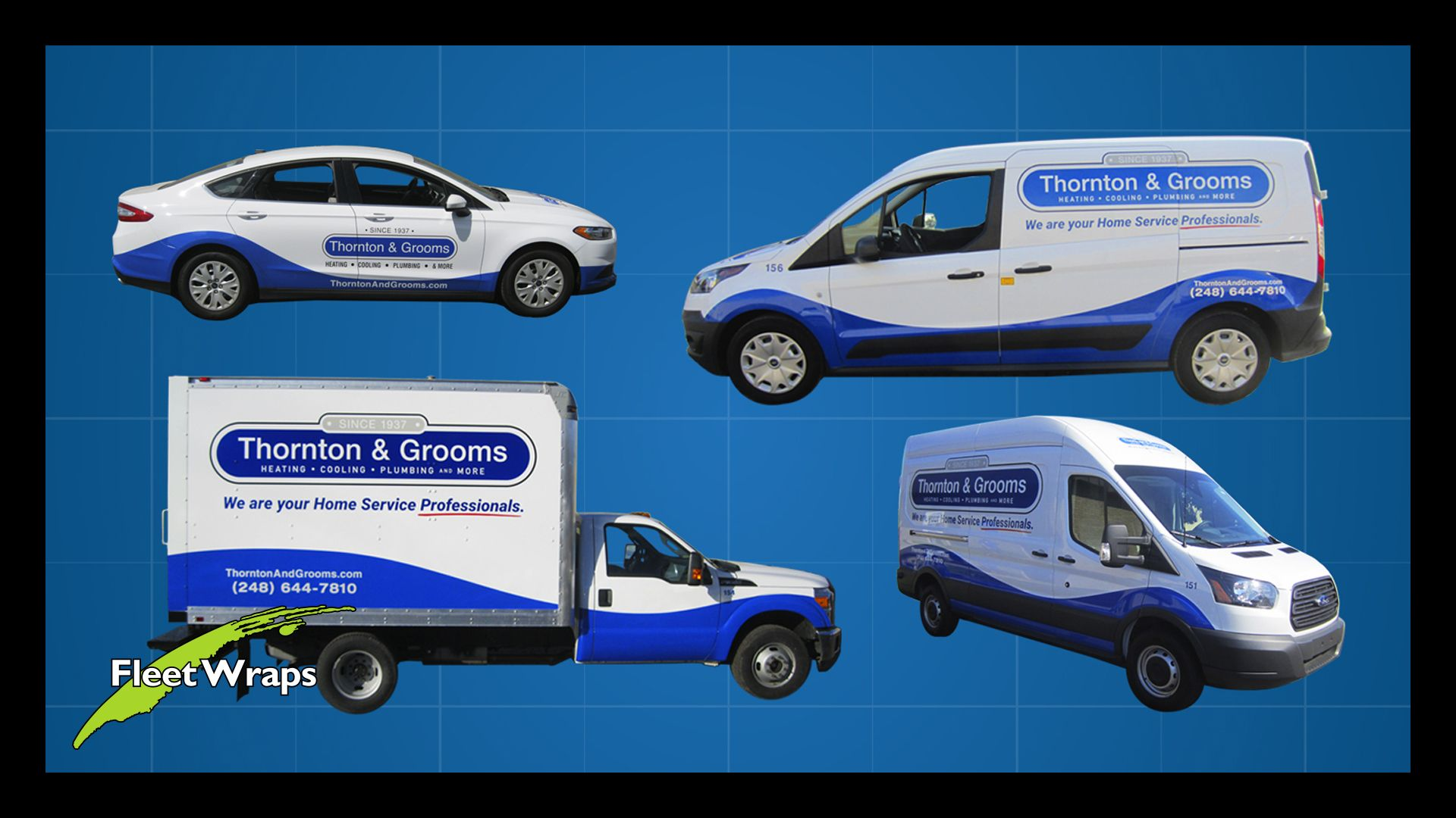 We Can Extend Your Brand Across Your Entire Fleet No Matter How