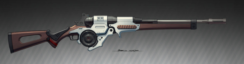 SciFi Fantasy Rifle by RemoteCrab131.deviantart.com on ...