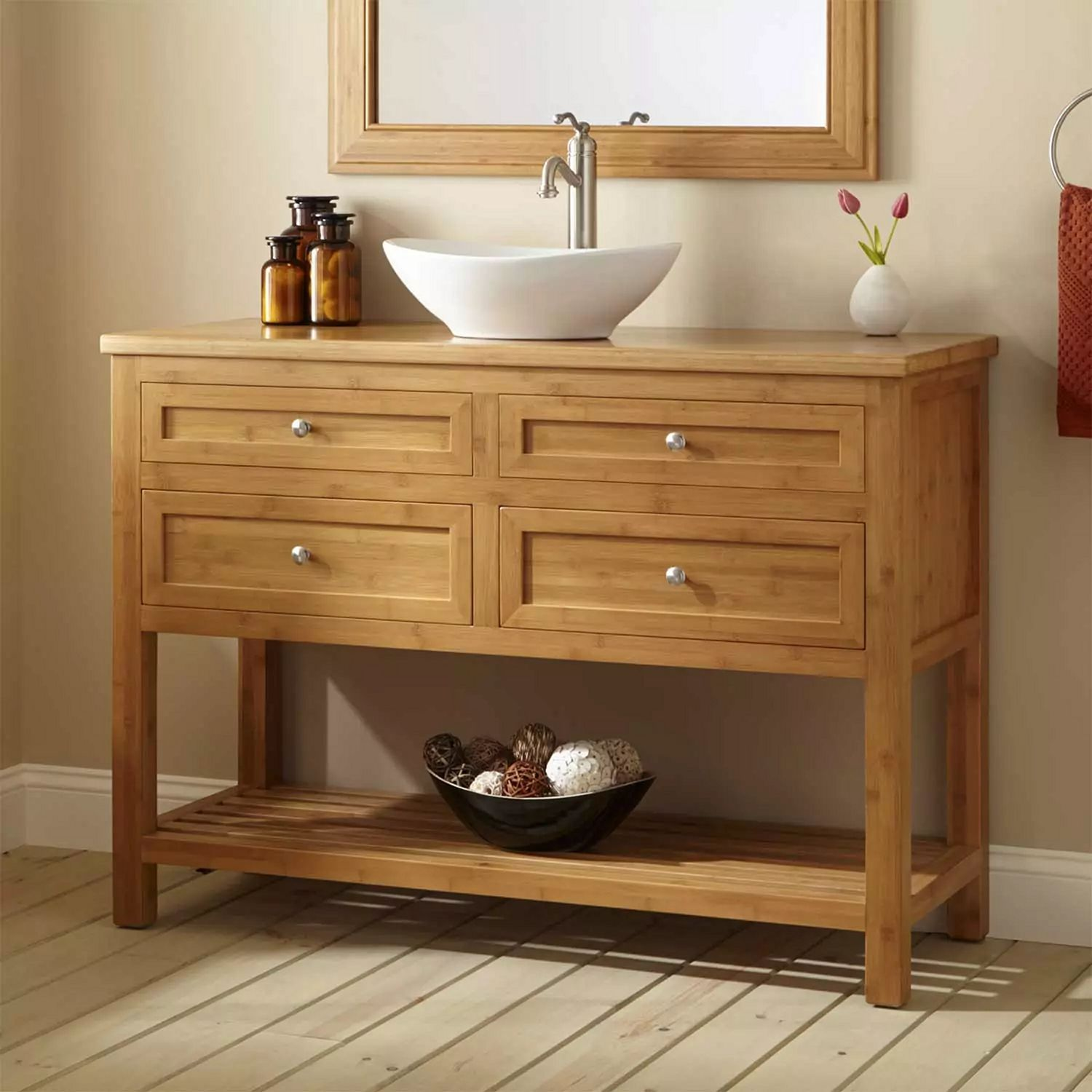 15 Best Wood Bathroom Vanities Ideas For Those Who Love Uniquess Bathroomdesign Bath Bathroom Vanity Designs Wooden Bathroom Vanity Narrow Bathroom Vanities