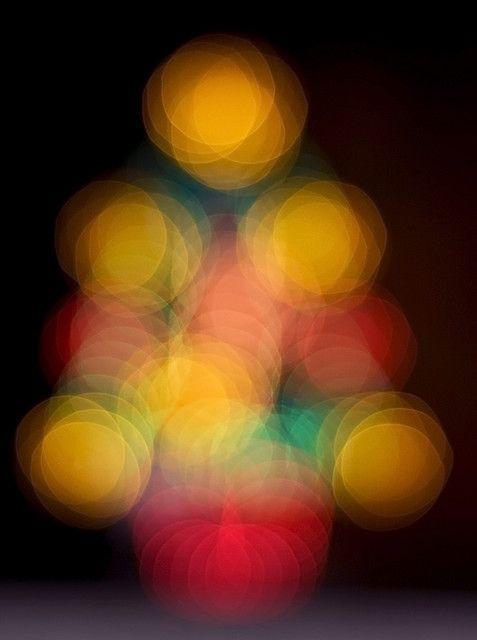 Christmas tree Bokeh Balls! Bokeh