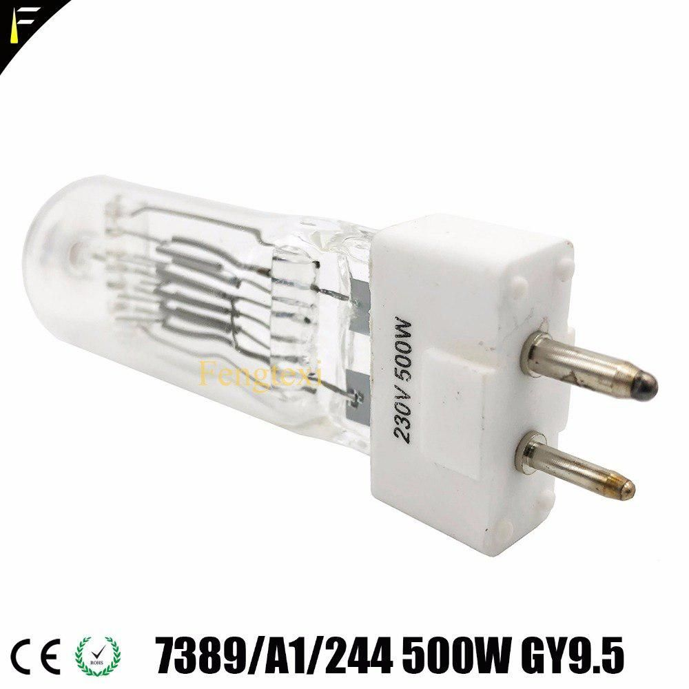 Studio Light Parts Replacement Lamp Bulb 300w 230v Gy9 5 80mm Halogen Bulb Lamp For Theater Lighting Halogen Bulbs Lamp Bulb Bulb