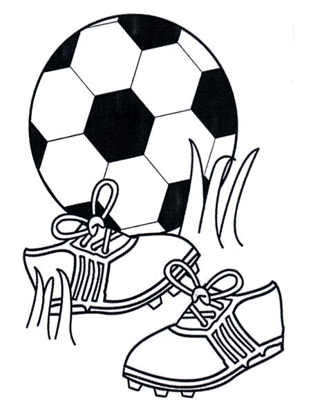 Voetbal Schoenen Kleurplaat Kleurplaten WK 2018 Sports