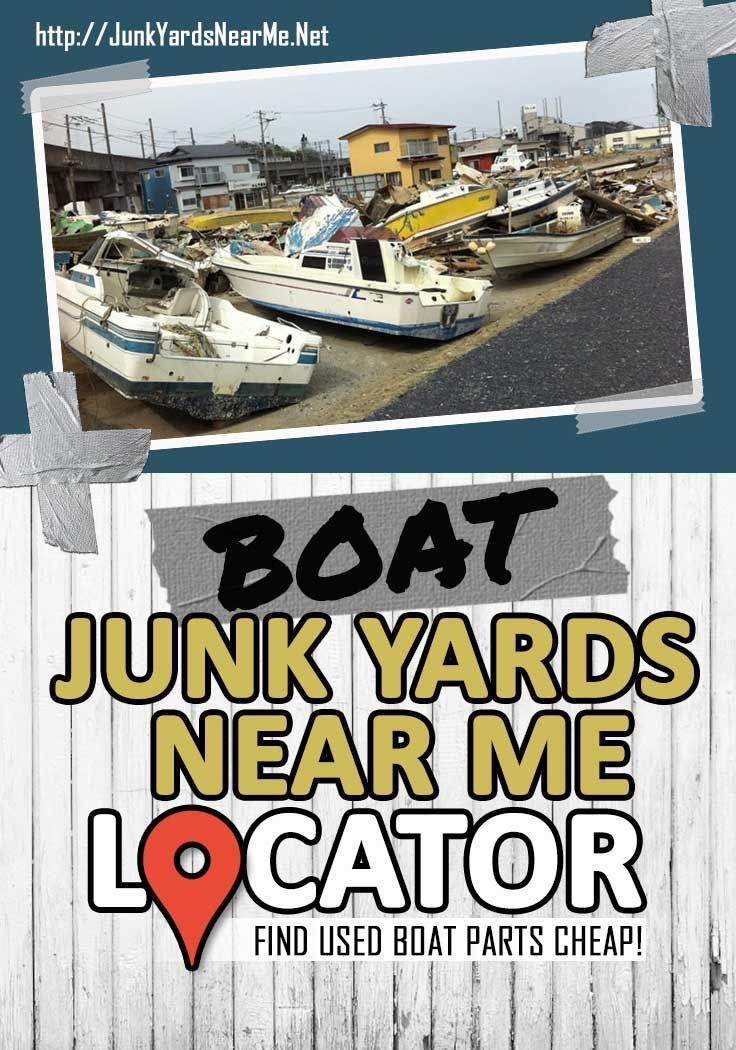 Boat Salvage Yards Near Me Locator Map Guide Faq Used Boat Parts Used Boats Boat
