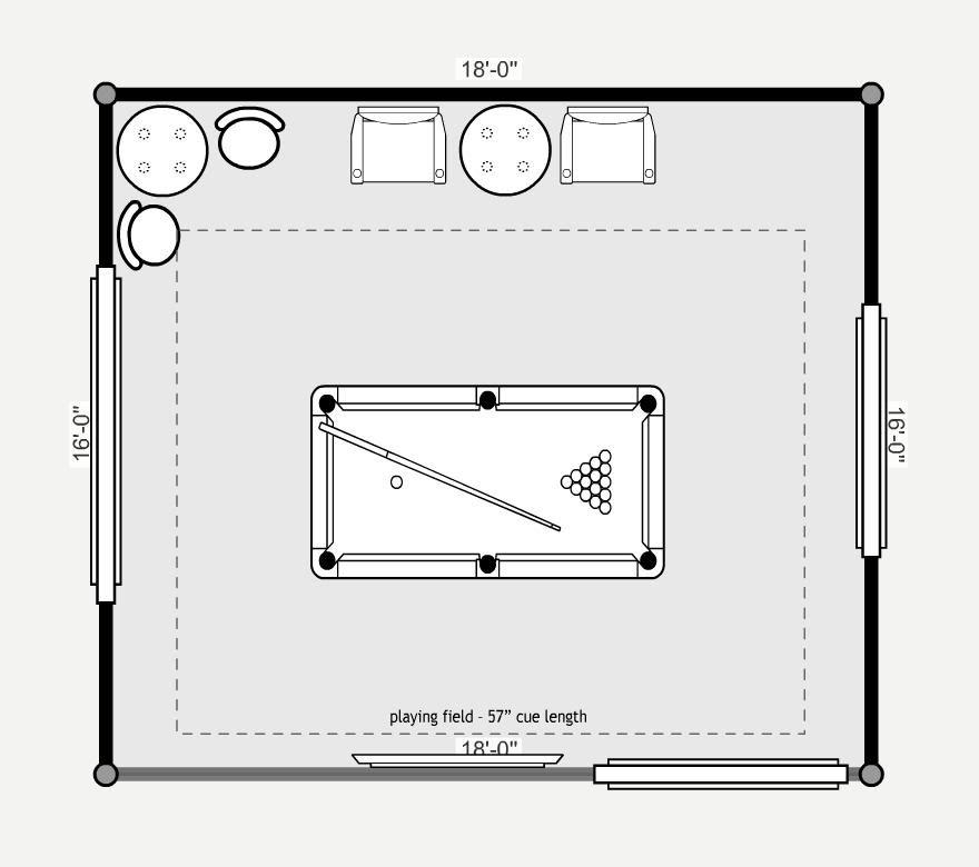 Pin De Majo Mosqueda En Game Room Planos Para Construir Casas