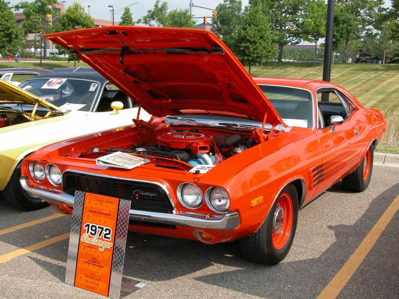 Dodge Challenger 340 Or hemi? Improve your gas mileage by 15%. Works ...