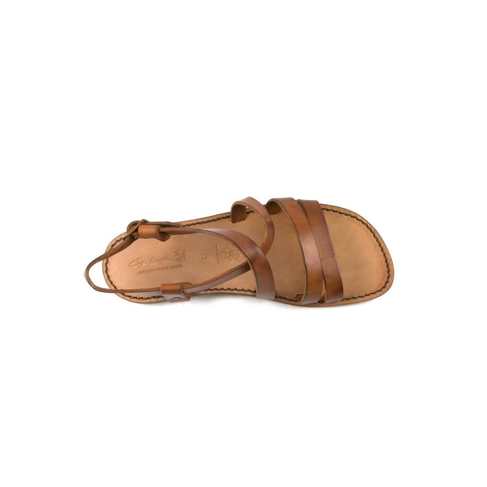 Franziskaner Sandalen für Männer aus Leder im Vintage Look