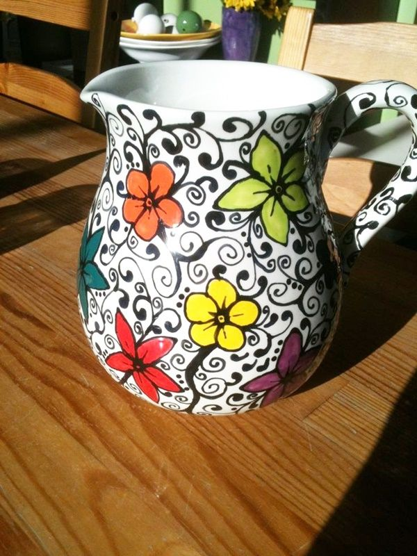 30 Amazing Pottery Painting Ideas To Try This Season is part of Pottery painting designs, Pottery painting, Pottery designs, Porcelain painting, Ceramic painting, Pottery - If you are who's always had the passion and the love for painting pottery, we bring to you the most exclusive Pottery Painting Ideas To Try This Season