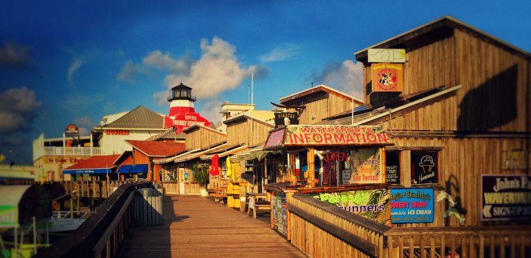 Johns pass village boardwalk st pete beach florida