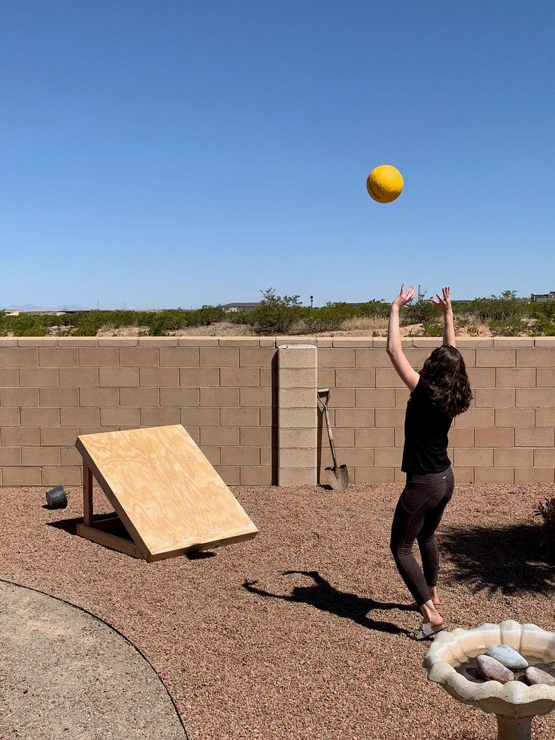 Plans For Building A Volleyball Practice Board Pdf Download Etsy In 2020 Volleyball Practice Volleyball Workouts Volleyball Training