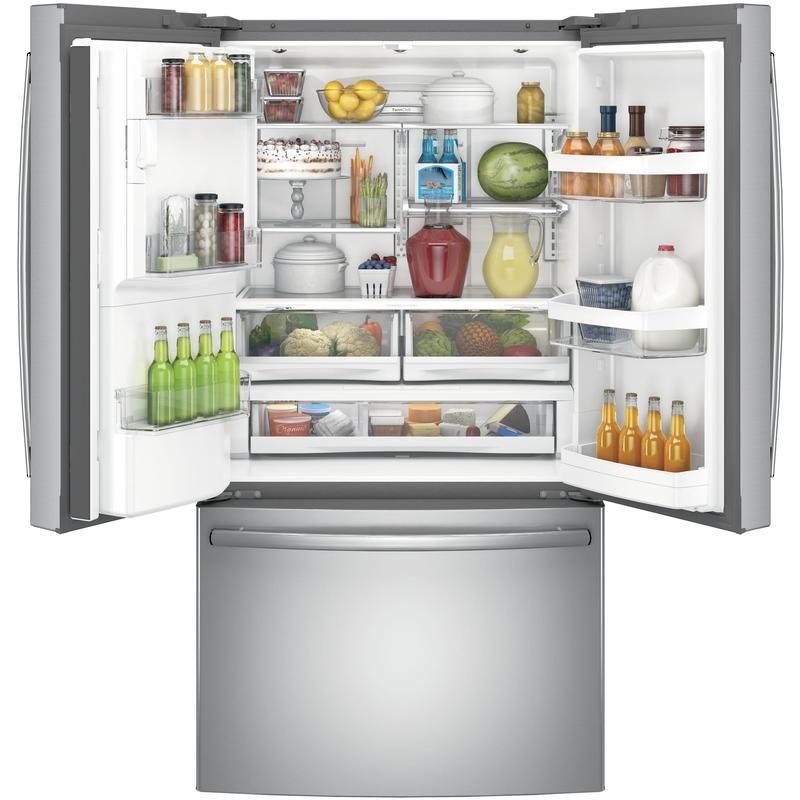 Ge energy star 278 cu ft frenchdoor refrigerator