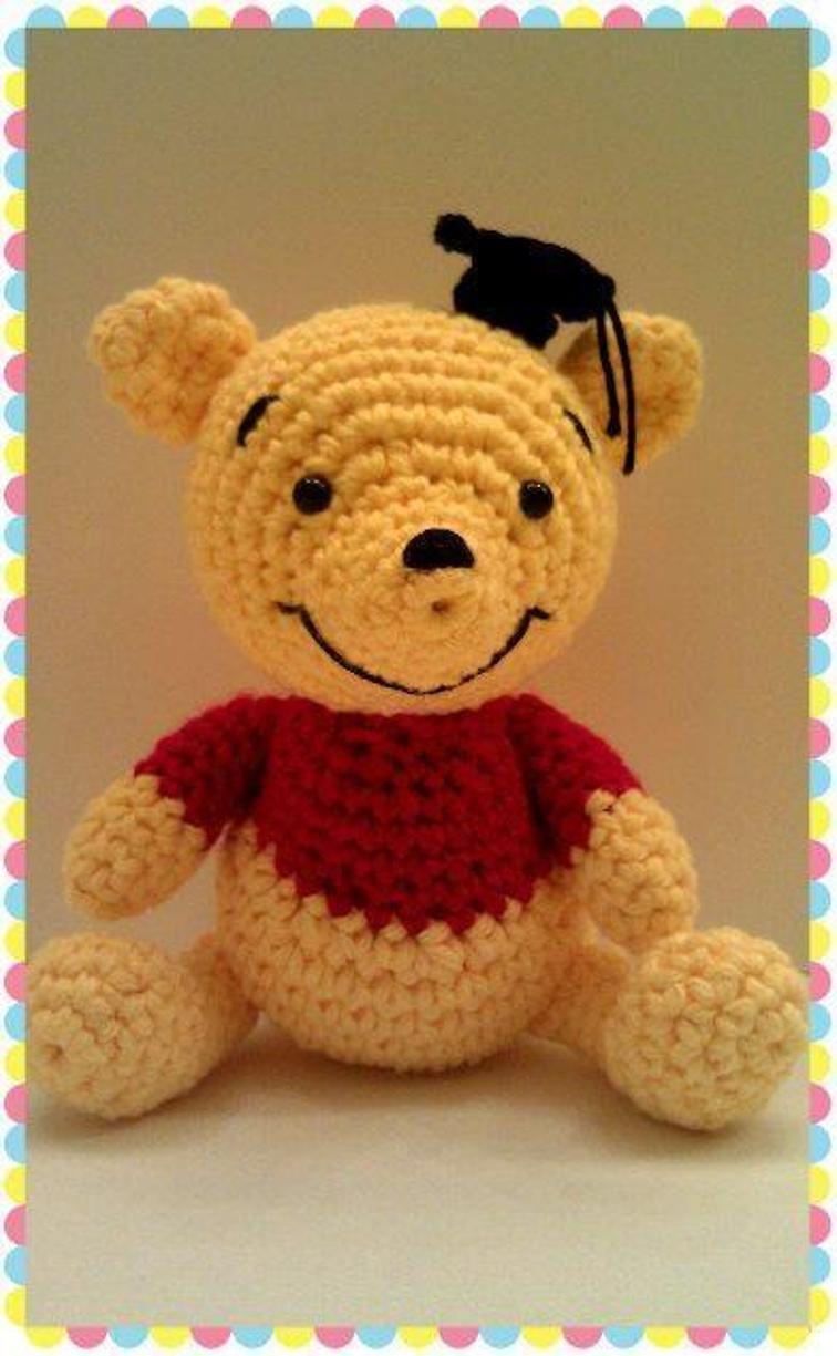 Amigurumi Winnie the Pooh Anlatımlı Tarifi @Canım Anne - YouTube | 1225x756