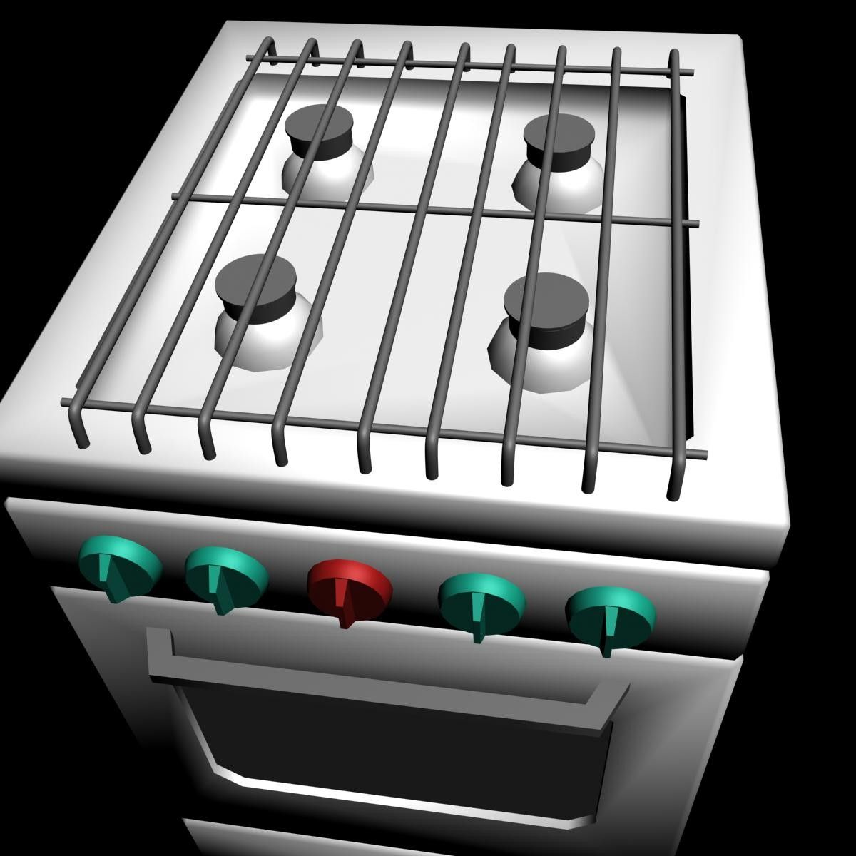 Gas Furnace Max - 3D Model