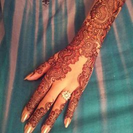 Engagement mehndi designs for hands bride of mehandi bridal also best eng images rh pinterest