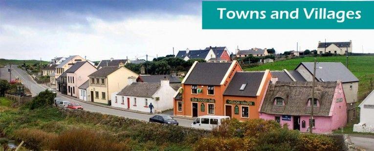 Towns and villages copy Burren, Cliffs of moher, Village