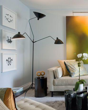 Serge Mouille Three Arms Floor Lamp Diy Floor Lamp, Decorative Floor Lamps,  Spider Lamp