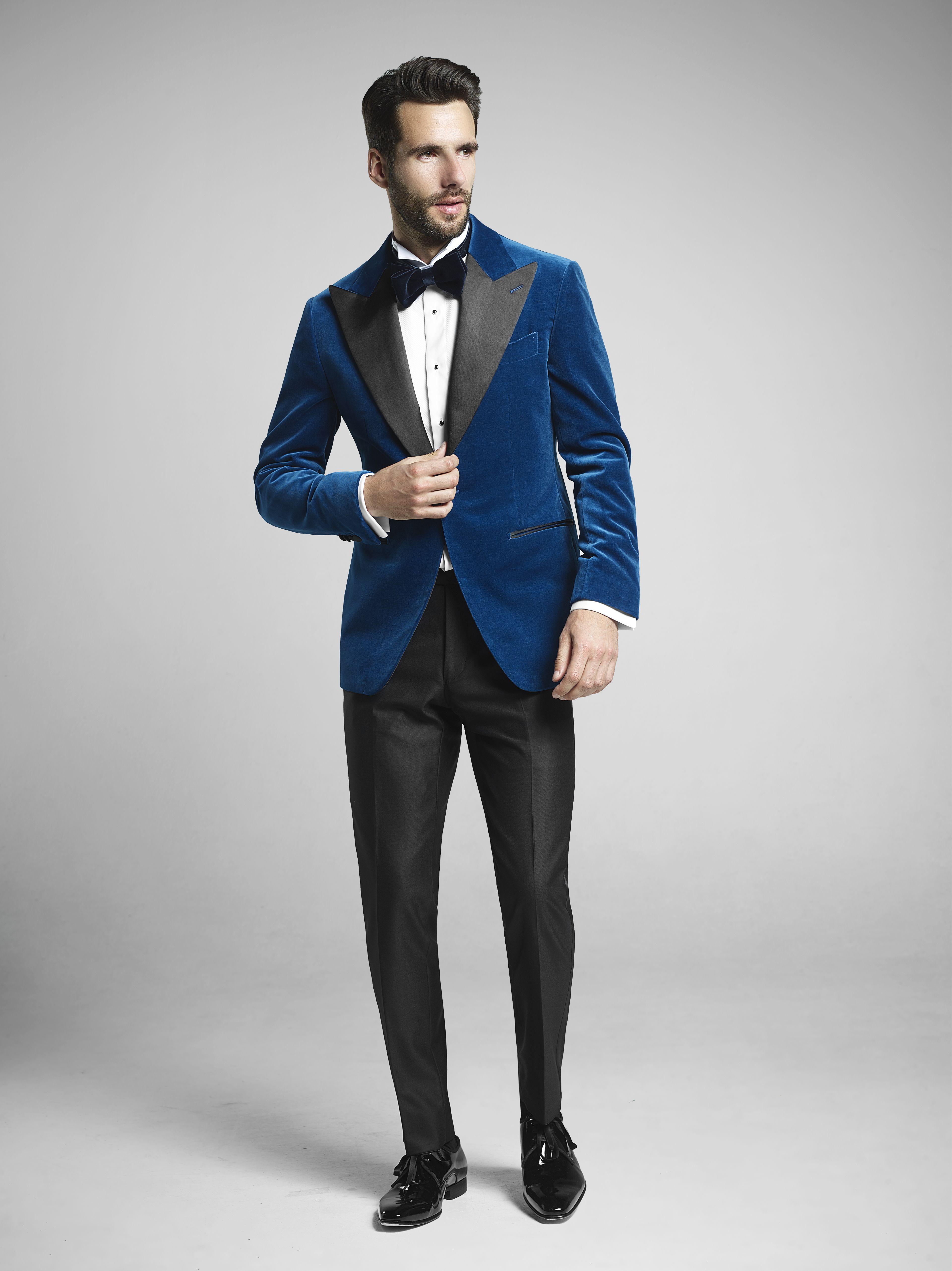 Bright Blue Velvet Dinner Jacket Suit Up Pinterest Velvet Dinner Jacket Mens Suits And