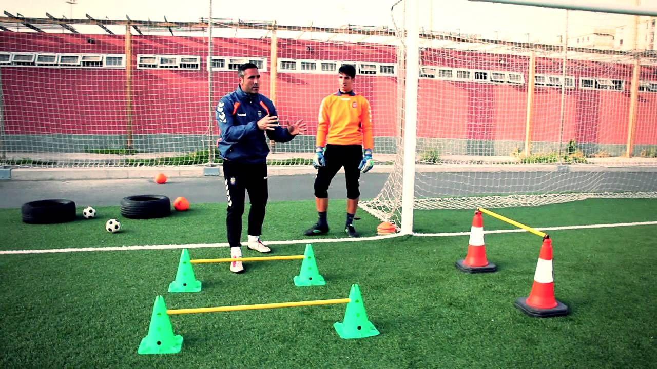 Ernesto García Entrenador De Porteros Demo Portero De Futbol Entrenamiento Futbol Entrenamiento