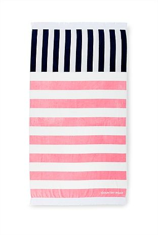 Sundaze Beach Towel Kids Outfits Striped Beach Towel Country Roads