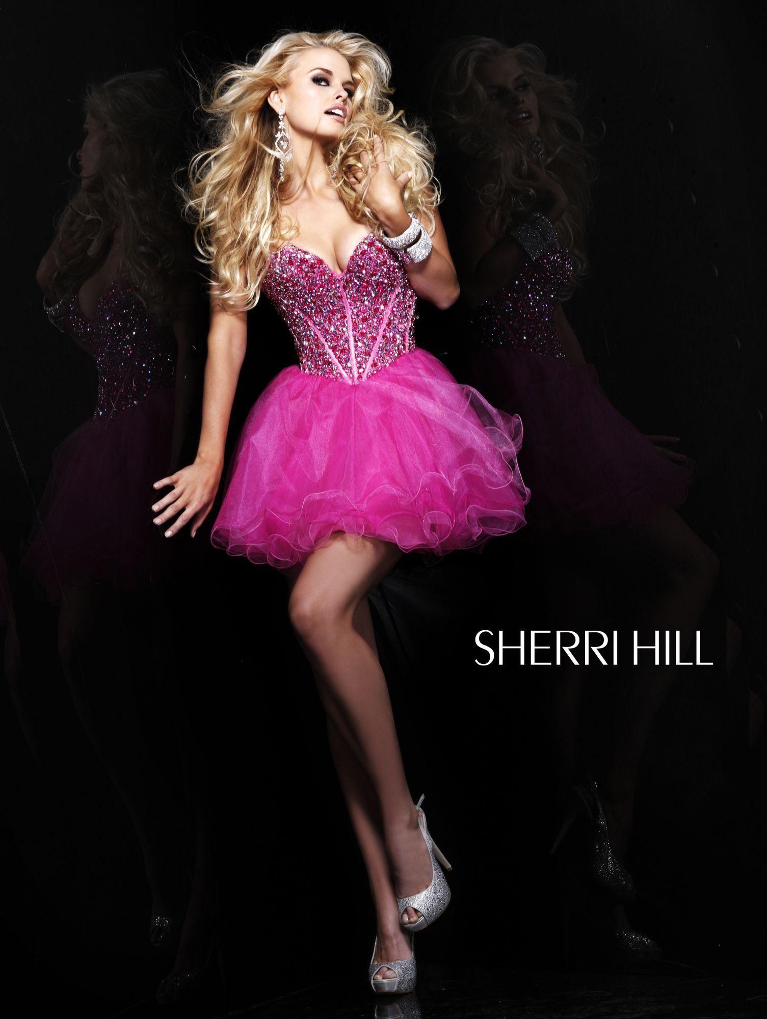 sherri hill | Cumpleaños de 15 | Pinterest | Cumpleaños de 15 y ...