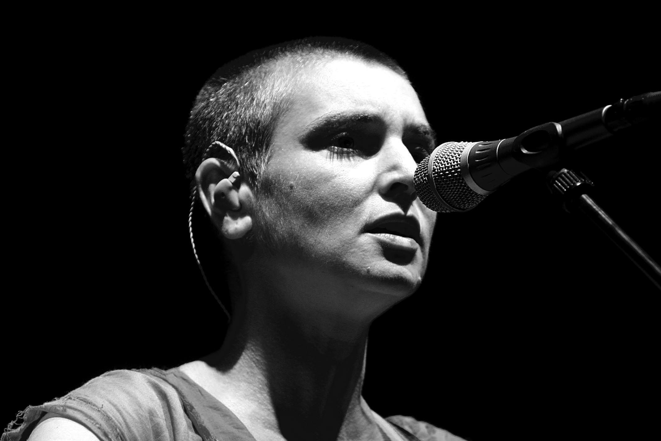 The always outspoken and wonderful Sinéad O'Connor