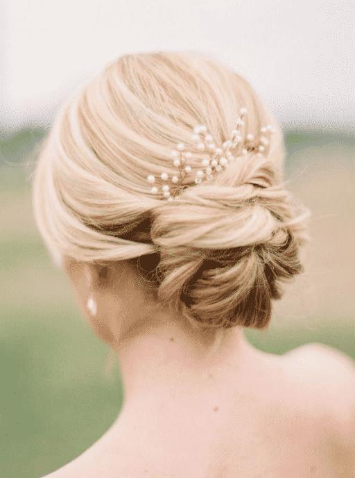 Le chignon : coiffure de mariage par excellence en 2020 ...