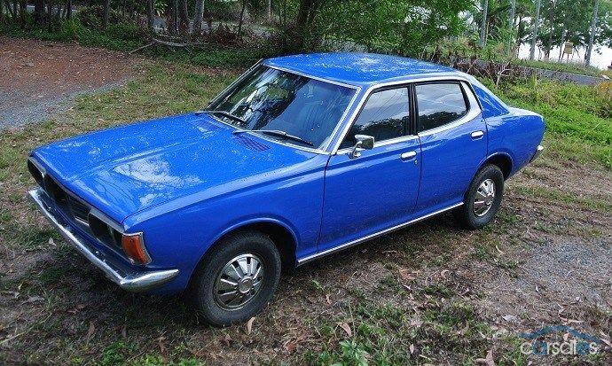 1973 Datsun 180B Deluxe ダットサン, 日産, ブルーバード