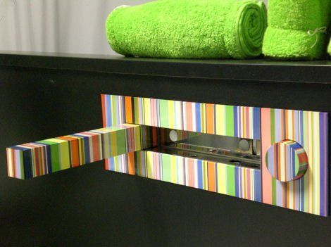 Hot or Not? Multicolor Bathroom Faucet by Savil